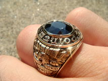 GRADUATION RING Stock Images