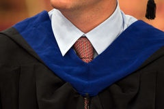 Graduation robe Royalty Free Stock Photos