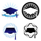 Graduation seals Royalty Free Stock Photos