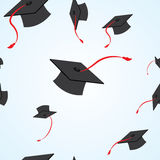 Graduation seamless pattern Royalty Free Stock Images