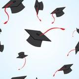 Graduation seamless pattern. Illustration of graduation seamless pattern royalty free illustration