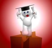Graduation star icon Stock Photo