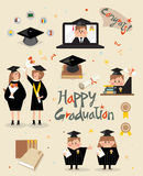 Graduation story Royalty Free Stock Image