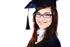 Graduation student Royalty Free Stock Photography
