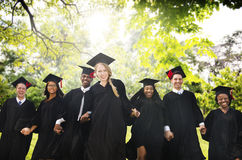 Graduation Student Commencement University Degree Concept.  stock photography