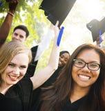 Graduation Student Commencement University Degree Concept Stock Images