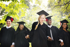 Graduation Student Commencement University Degree Concept Stock Images