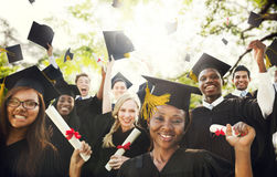Graduation Student Commencement University Degree Concept stock photos