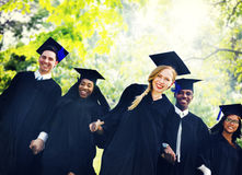 Graduation Student Commencement University Degree Concept Royalty Free Stock Photography