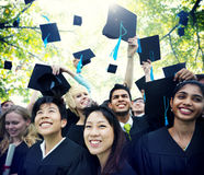 Graduation Student Commencement University Degree Concept royalty free stock photo