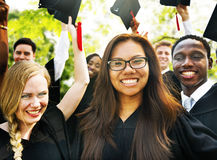 Graduation Student Commencement University Degree Concept.  royalty free stock images