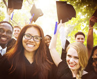 Graduation Student Commencement University Degree Concept Royalty Free Stock Photos