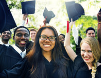 Graduation Student Commencement University Degree Concept.  stock image