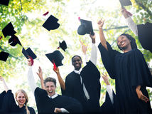 Graduation Student Commencement University Degree Concept Royalty Free Stock Image