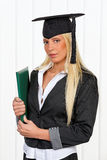 Graduation of a student review Royalty Free Stock Images