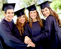 Graduation students Stock Images