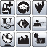 Graduation symbol. Royalty Free Stock Image