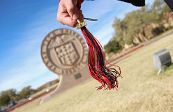 Graduation tassel Stock Photography