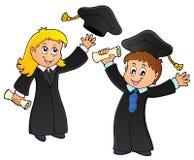 Graduation theme image 1 Stock Photo