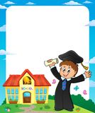 Graduation theme image 4 Stock Photo