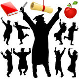 Graduation vector Stock Photo