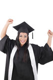 Graduation of a woman Royalty Free Stock Images