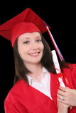 Graduation Woman Royalty Free Stock Photography