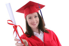 Graduation Woman Royalty Free Stock Image