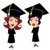 Graduation Woman Female Royalty Free Stock Photography