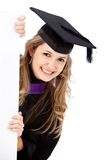 Graduation woman portrait Royalty Free Stock Photo