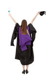 Graduation woman portrait Stock Photography