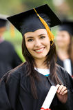 Graduation woman portrait Stock Images