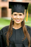 Graduation woman portrait Stock Photos