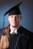 Graduation young man Stock Image
