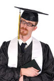 Graduation a young man cry Royalty Free Stock Photos
