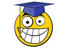 Graduato felice Fotografia Stock