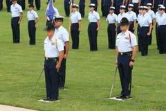 Graduazione 2 della guardia costiera degli Stati Uniti Fotografie Stock Libere da Diritti