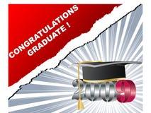 graduazione 2009 Fotografia Stock