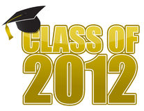Graduazione 2012 illustrazione di stock
