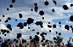 Graduazione! Fotografia Stock