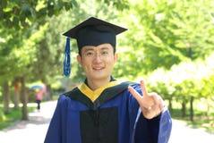 Graduazione dell'allievo Fotografie Stock Libere da Diritti