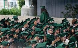 Graduazione di High School della primavera 2012 Fotografia Stock Libera da Diritti