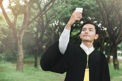Graduazione di istruzione Fotografia Stock Libera da Diritti