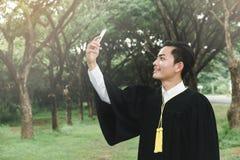 Graduazione di istruzione Fotografia Stock