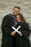 Graduazione - università Fotografia Stock