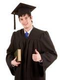 Graduierte Holding ein Buch Lizenzfreie Stockfotografie