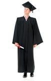 Graduierter Kerlstudent lizenzfreies stockfoto