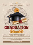 Graduierungsfeier Stockfoto