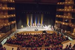 Graduierungsfeier Wales Lizenzfreies Stockbild