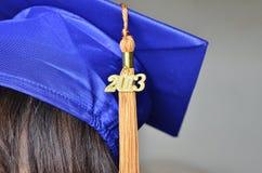 Gradutation kapelusz 2013 Zdjęcie Stock